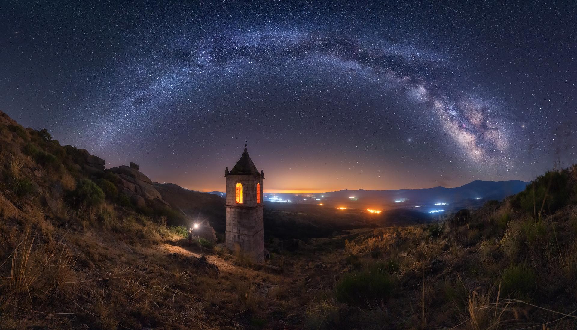 Noche en el Monasterio III